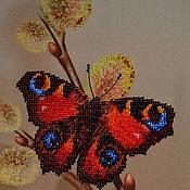 Для дома и интерьера ручной работы. Ярмарка Мастеров - ручная работа Бабочка на вербе. Handmade.