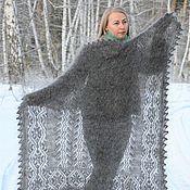 Аксессуары handmade. Livemaster - original item Shawls: Openwork down scarf