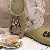 Обувь ручной работы. Ярмарка Мастеров - ручная работа Тапочки как тапочки. Handmade.