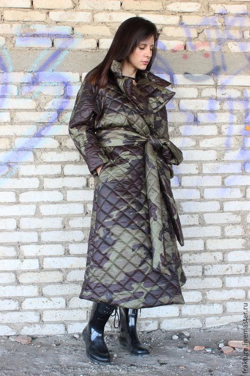 """Верхняя одежда ручной работы. Ярмарка Мастеров - ручная работа. Купить Пиджак  """"Military """" C0001. Handmade. Разноцветный"""