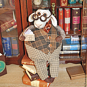 Куклы и игрушки ручной работы. Ярмарка Мастеров - ручная работа Барашек Гамлиэль. Handmade.