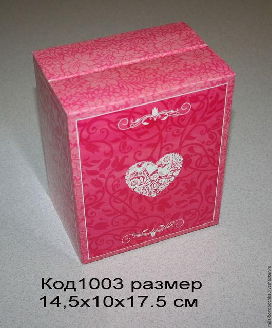 Коробка большая для наборов   Код1003 размер 14,5х10х17.5 см