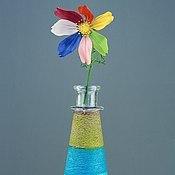 Цветы и флористика handmade. Livemaster - original item Tsvetik-Semitsvetik polymer clay