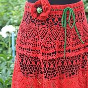 Одежда handmade. Livemaster - original item Skirt knitted