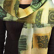 Аксессуары ручной работы. Ярмарка Мастеров - ручная работа шарф Шотландка. Handmade.