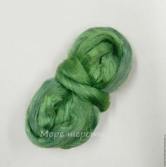 Вискоза - Зелёное яблоко Фото без вспышки