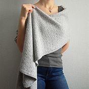 Аксессуары handmade. Livemaster - original item Large knitted cashmere scarf