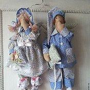Куклы и игрушки ручной работы. Ярмарка Мастеров - ручная работа Ангелы сна Мария и Матвей. Handmade.