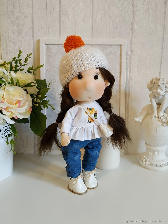Интерьерная, игровая кукла с натуральными волосами, Куклы, Екатеринбург, Фото №1