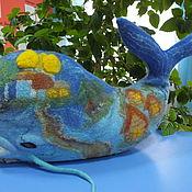 Куклы и игрушки ручной работы. Ярмарка Мастеров - ручная работа диванная подушка декоративная Кит. Handmade.