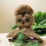 Куклы и игрушки handmade. Livemaster - original item Owl on all wings mistress. Handmade.