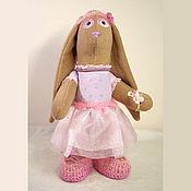 """Куклы и игрушки ручной работы. Ярмарка Мастеров - ручная работа Игрушка зайчик Тильда стоячий """"Милена"""". Handmade."""