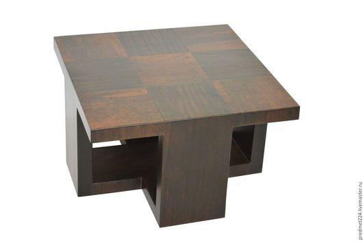 Мебель ручной работы. Ярмарка Мастеров - ручная работа. Купить Стол 8. Handmade. Коричневый, контрастный, шпон венге