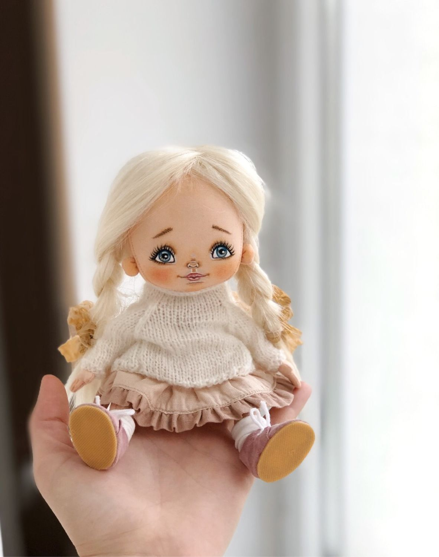 Текстильная кукла, Куклы и пупсы, Калининград,  Фото №1