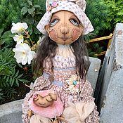 Куклы и игрушки ручной работы. Ярмарка Мастеров - ручная работа Текстильная кукла Лиза. Handmade.