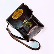 Сумки и аксессуары handmade. Livemaster - original item The LUNCH - 4 (beige thread) Leather handbag on a belt.Manual firmware. Handmade.