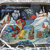 Русский стиль handmade. Livemaster - original item Palekh lacquer box