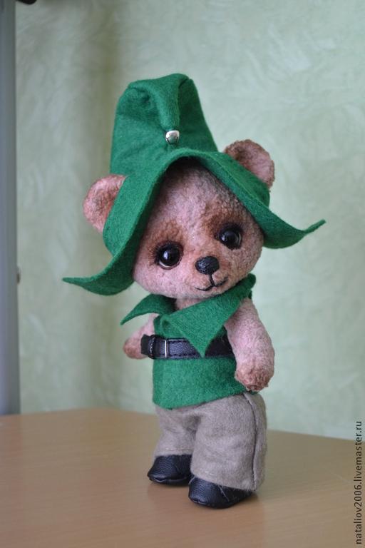 """Мишки Тедди ручной работы. Ярмарка Мастеров - ручная работа. Купить Малыш """"Лесной Эльф"""". Handmade. Бежевый, глаза для тедди"""