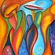Абстракция ручной работы. Ярмарка Мастеров - ручная работа. Купить Шик - Авторская картина маслом ручной работы на холсте. Handmade.