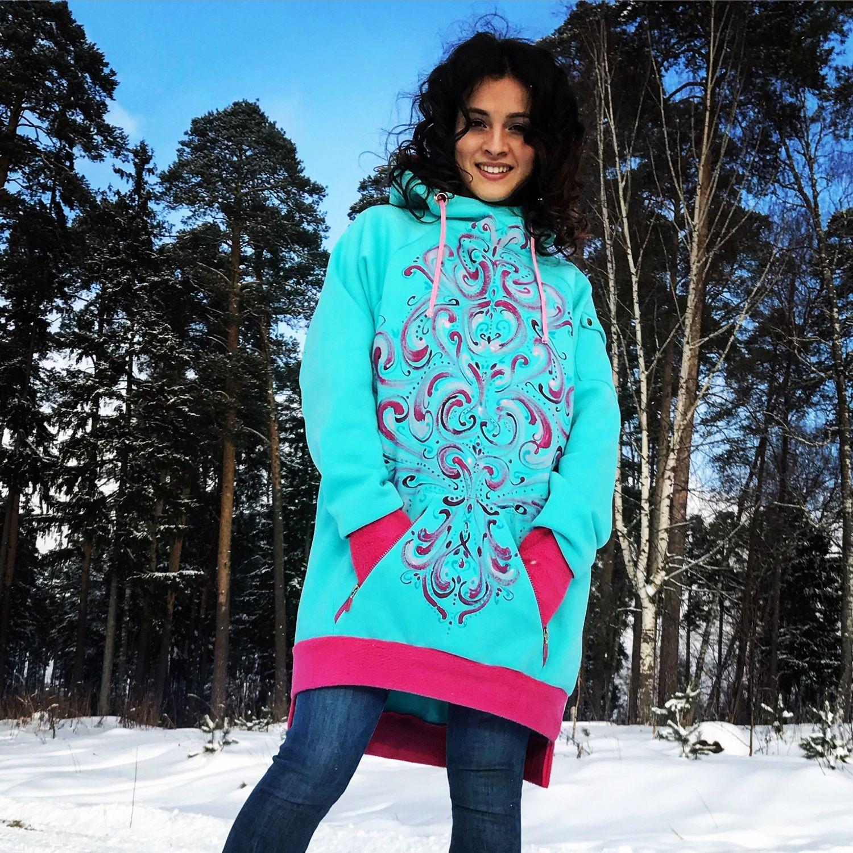 Hoodie 'Tiffany', Sweater Jackets, Ivanovo,  Фото №1