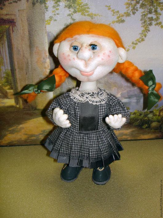 Коллекционные куклы ручной работы. Ярмарка Мастеров - ручная работа. Купить Поля . Текстильная кукла.. Handmade. Рыжий, подарок подруге