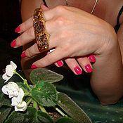 Украшения ручной работы. Ярмарка Мастеров - ручная работа Перстень из кленового капа. Handmade.