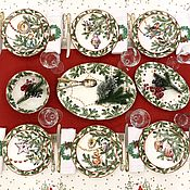 Посуда handmade. Livemaster - original item Services: Christmas toys USSR table set. Handmade.