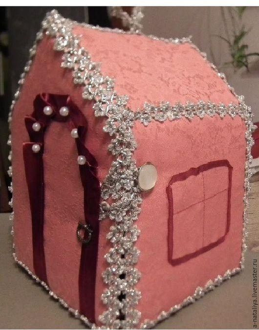 Кукольный дом ручной работы. Ярмарка Мастеров - ручная работа. Купить Домик для куклы. Handmade. Домик, домик для куклы, тесьма