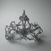 Диадемы ручной работы. Ярмарка Мастеров - ручная работа Украшение на голову корона, корона принцессы, корона для девочки. Handmade.