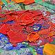 """Картины цветов ручной работы. Заказать Картина """"Маки в Синей Вазе"""" - картина маслом с маками. ЯРКИЕ КАРТИНЫ Наталии Ширяевой. Ярмарка Мастеров."""