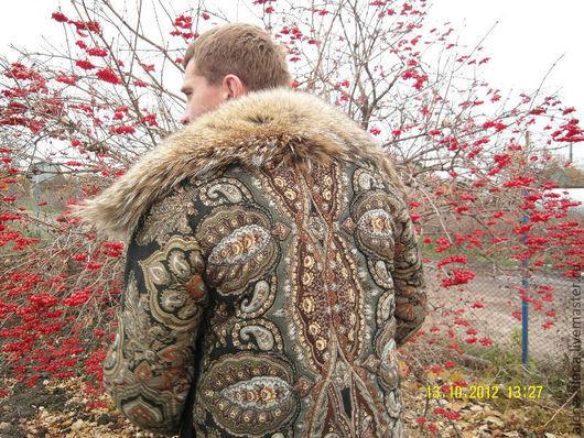"""Верхняя одежда ручной работы. Ярмарка Мастеров - ручная работа. Купить Скидка 20 %  на зимнее пальто """"Серый волк"""".. Handmade."""