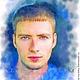 Портрет по фото (акварель).