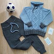 Работы для детей, handmade. Livemaster - original item Sweatshirt and pants. Handmade.