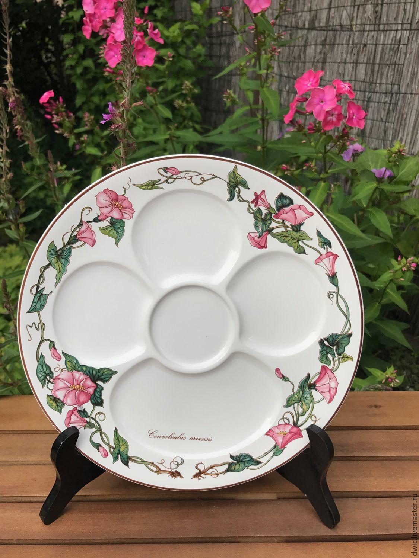 Appetizer dish 2 PCs. Villeroy&Boch Botanica, Luxembourg, Vintage plates, Arnhem,  Фото №1