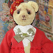 Куклы и игрушки ручной работы. Ярмарка Мастеров - ручная работа Тедди мишка Линда. Handmade.