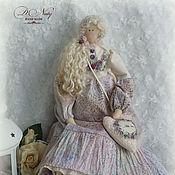 Куклы и игрушки ручной работы. Ярмарка Мастеров - ручная работа Мисс Амели    интерьерная текстильная кукла. Handmade.
