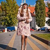 Одежда ручной работы. Ярмарка Мастеров - ручная работа Теплое осеннее пальто.. Handmade.