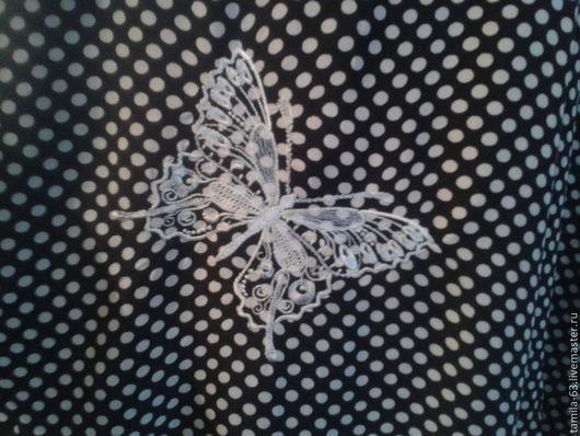 Текстиль, ковры ручной работы. Ярмарка Мастеров - ручная работа. Купить Бабочки. Handmade. Бабочки вышивка, подушка декоративная, шерсть