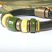 Украшения handmade. Livemaster - original item Bracelet Regaliz lime and Lemon. Handmade.