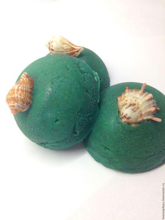 """Мыло ручной работы. Ярмарка Мастеров - ручная работа. Купить """"Лагуна"""" натуральное мыло ручной работы с серой.. Handmade."""
