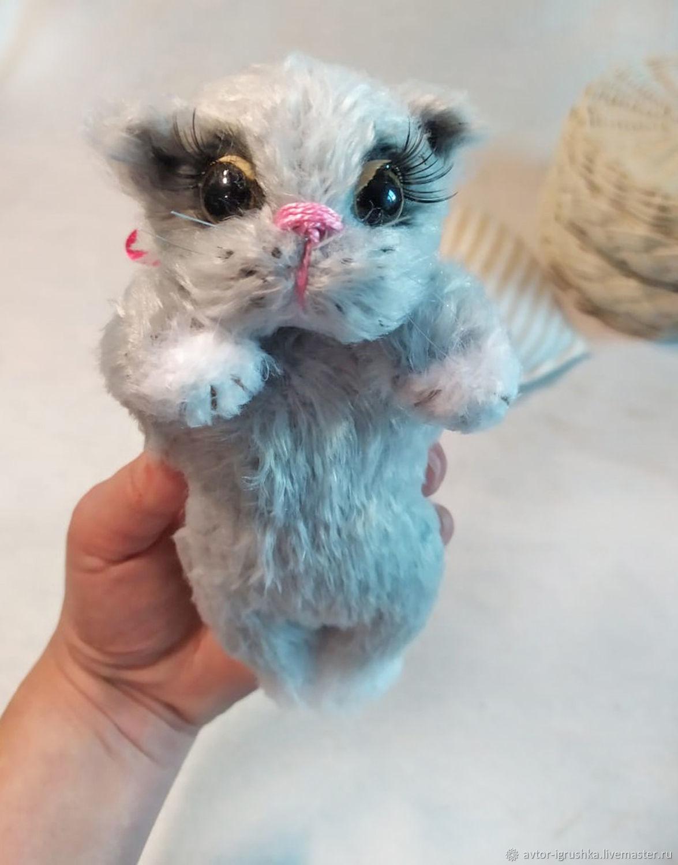 Soft toys: Gray cat, Stuffed Toys, Nevinnomyssk,  Фото №1