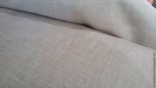 Шитье ручной работы. Ярмарка Мастеров - ручная работа. Купить Ткань для постельного белья. 100% лен. Ширина 220 см. Handmade.