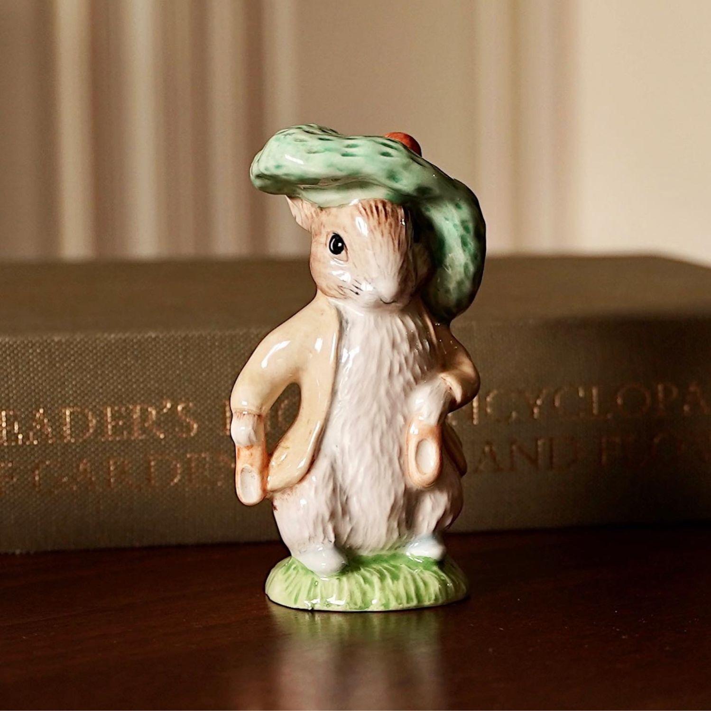 Винтаж: Royal Albert фигурка кролик Бенджамин, Англия, 1989 год, Сувениры винтажные, Москва,  Фото №1