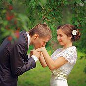 """Свадебный салон ручной работы. Ярмарка Мастеров - ручная работа Свадебное болеро """"Lace"""". Handmade."""