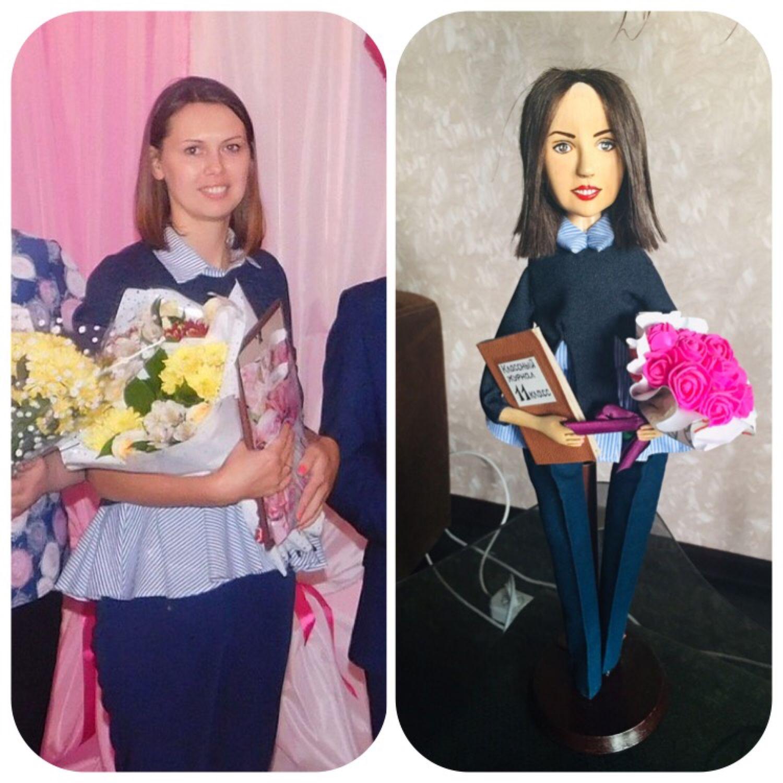 Портретная кукла из дерева, Портретная кукла, Подпорожье,  Фото №1