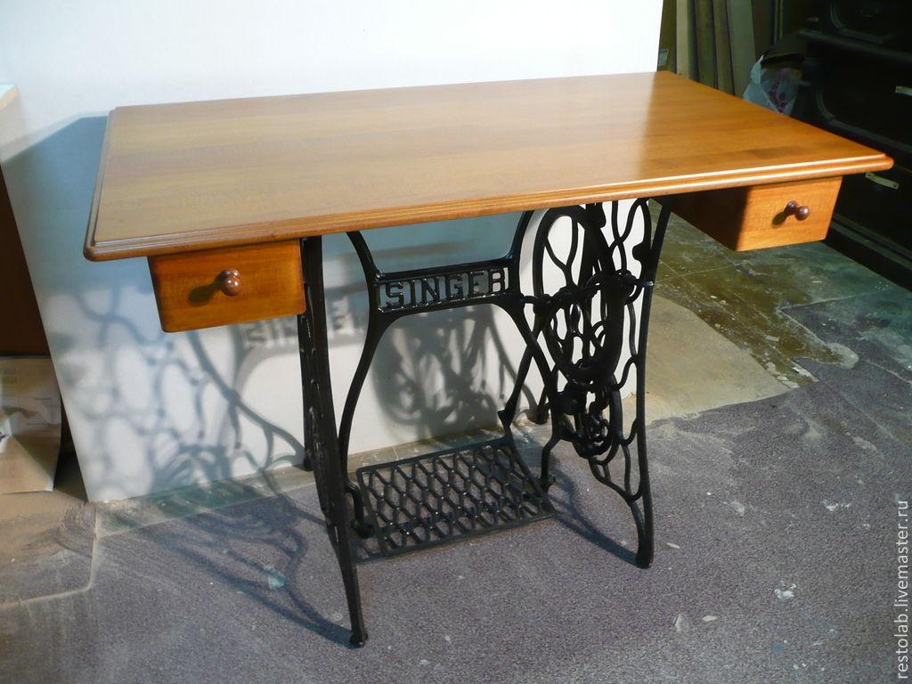 Как сделать стол под машинку 79