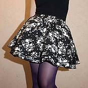 Одежда ручной работы. Ярмарка Мастеров - ручная работа Пышная джинсовая юбка. Handmade.