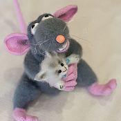 Stuffed Toys handmade. Livemaster - original item Rats Remi/Remy the rat. Handmade.
