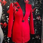 """Одежда ручной работы. Ярмарка Мастеров - ручная работа Жакет """"Пламя страсти"""". Handmade."""