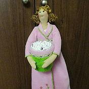 Куклы и игрушки handmade. Livemaster - original item Guardian cotton pads and sticks. Handmade.